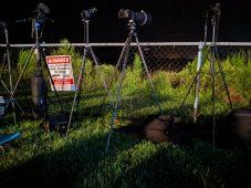 A few cameras for Falcon Heavy
