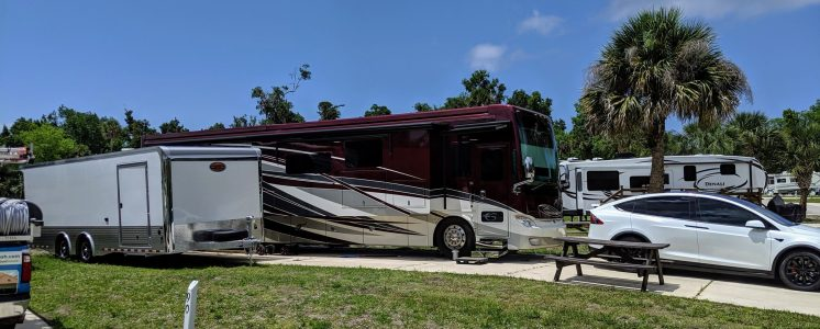 Our RV Site in Florida