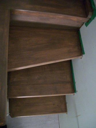 Custom woodwork/ Mini staircase