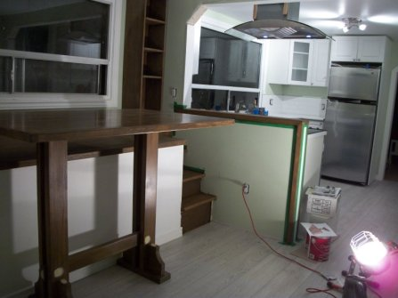 Custom furniture built-ins