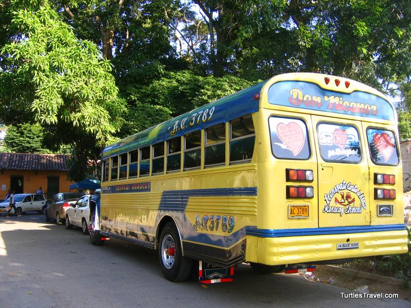 Choroni School Bus