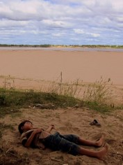 Napping on the Mekong