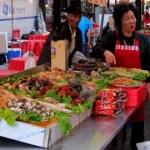Street market, Seoul
