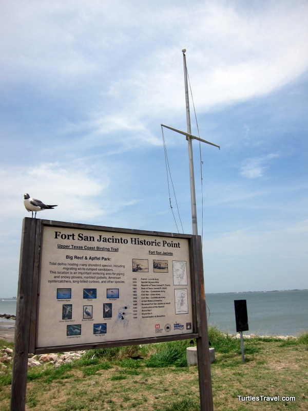 Fort San Jacinto Historic Point