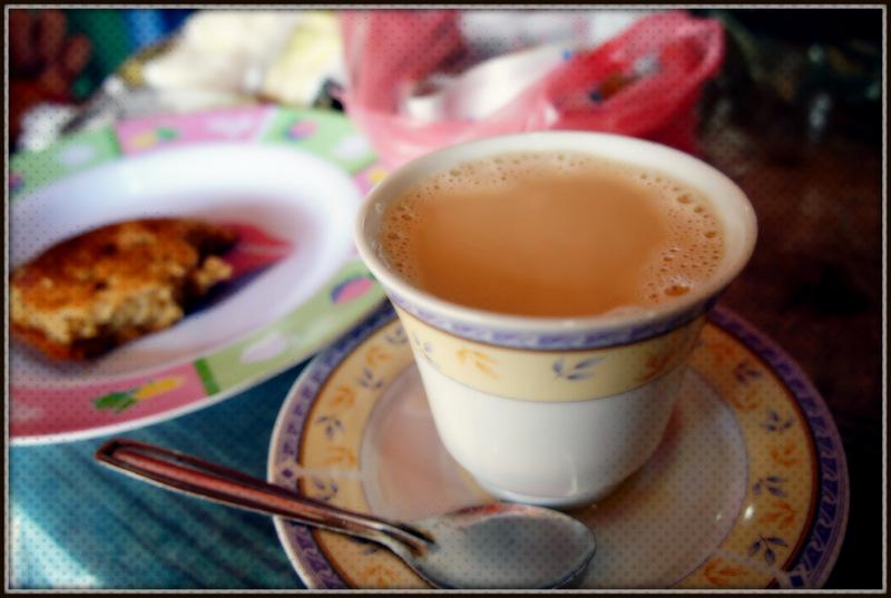Sri Lanken swwet tea with milk