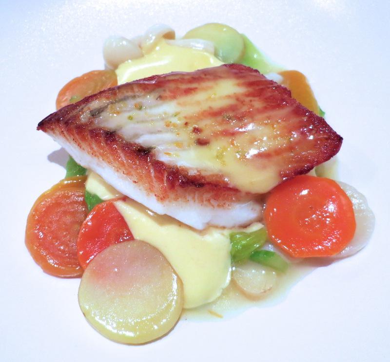 Fish and Seasonal Vegetables in Dublin Ireland