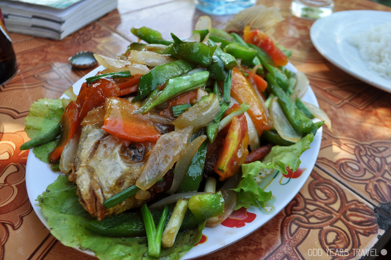 Curried Fish in Cambodia