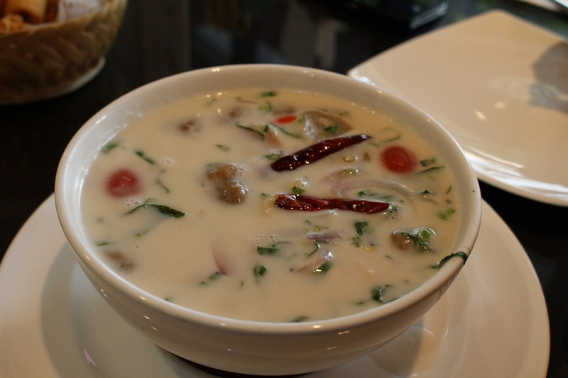 Tom Yum thai coconut soup
