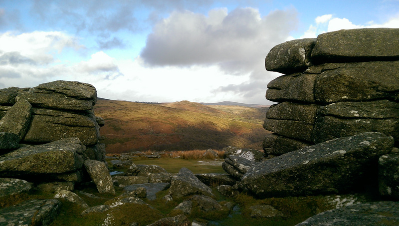 Bellever Tor in south west England