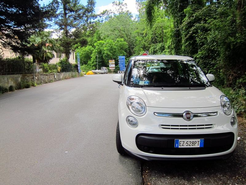 Italian Fiat 500 L Road Trip Italy