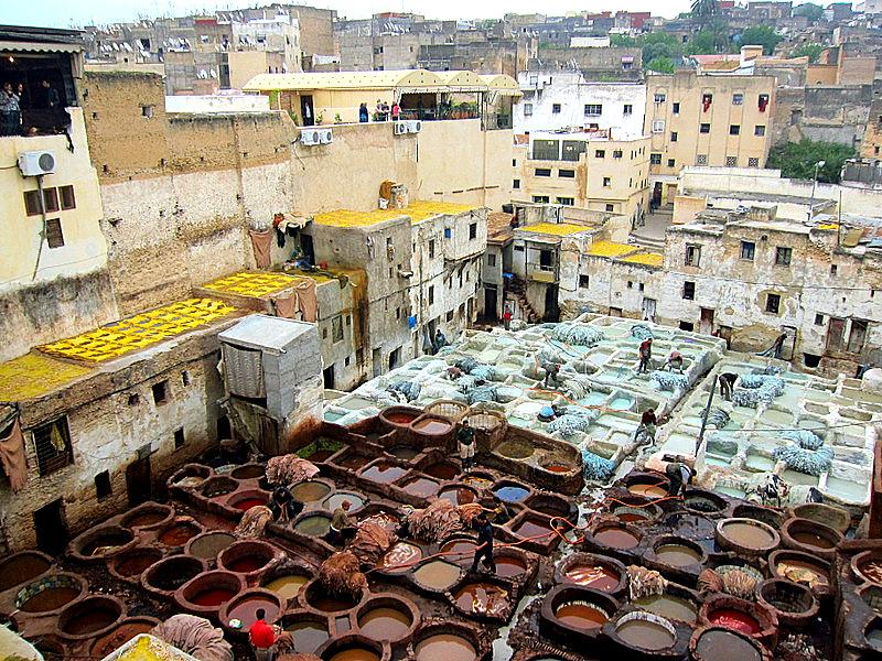 Chouara Tannery, Fez