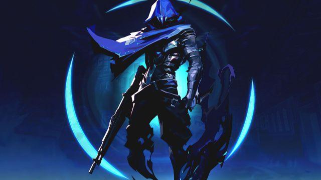 Blue themed Omen