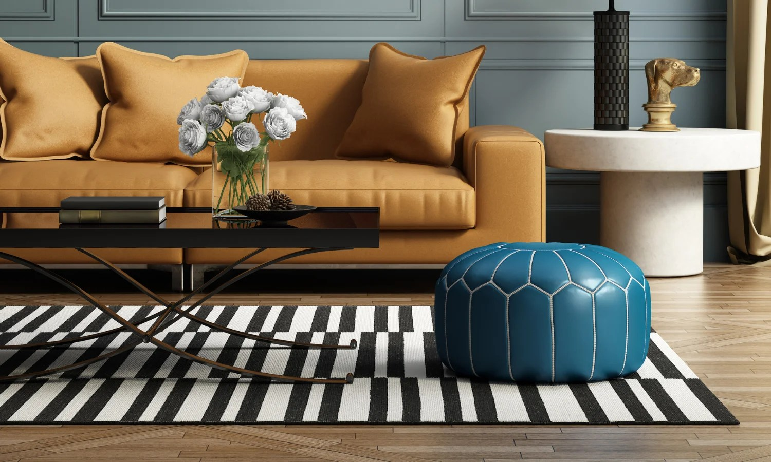 Tips For Decorating The Living Room With Rugs