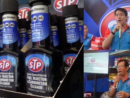 DR OTO News: STP Gebrak Pasar Roda Dua Dengan Duplemen Bahan Bakar Carbon Cleaner.