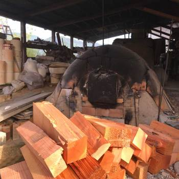 五反林窯 窯焚き PHOTO