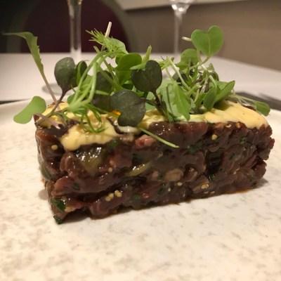 Steak Tartar de solomillo de vaca