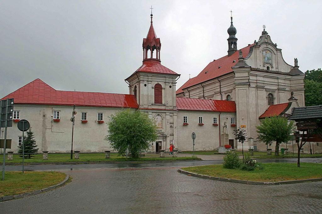 Sanktuarium i zalew w Krasnobrodzie