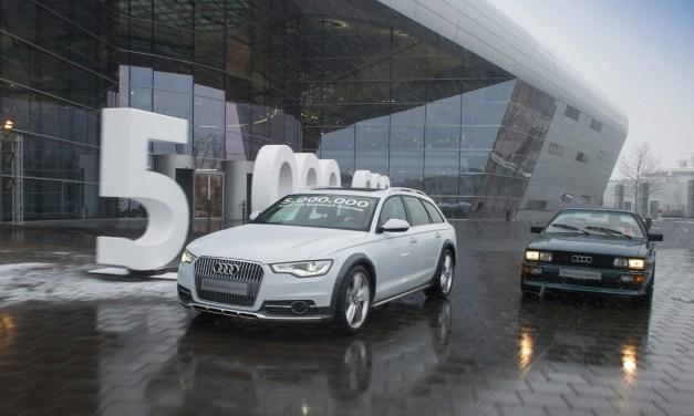 5 milionów Audi Quattro