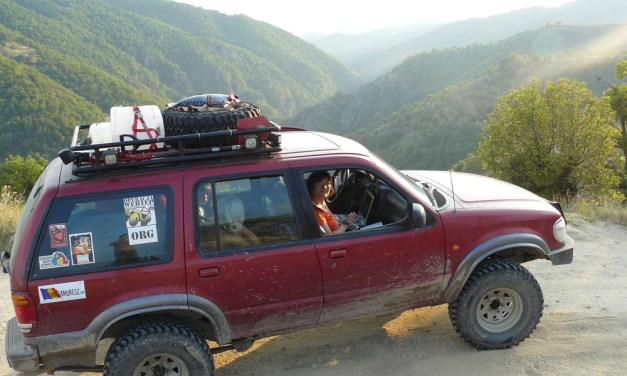 Fordem Explorerem do Bułgarii i Grecji