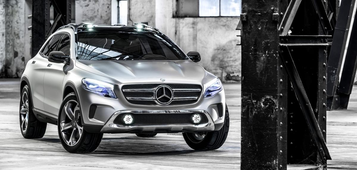 Mercedes-Benz Concept GLA – debiut w Szanghaju