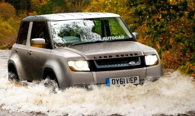 Baby Land Rover – nowy niewielki SUV