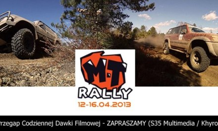 MT Rally 2013 – Relacje prawie na żywo