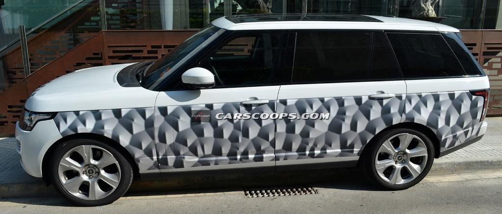 Nowy Range Rover będzie dłuższy