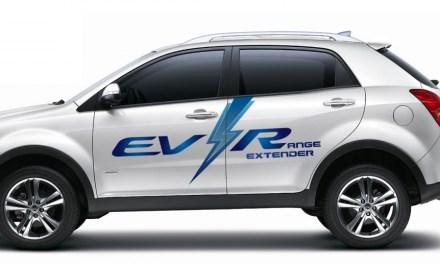 Ssangyong Korando C EV-R: debiut na targach ENVEX 2013