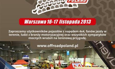 Targi OffRoad Show Poland już w najbliższy weekend