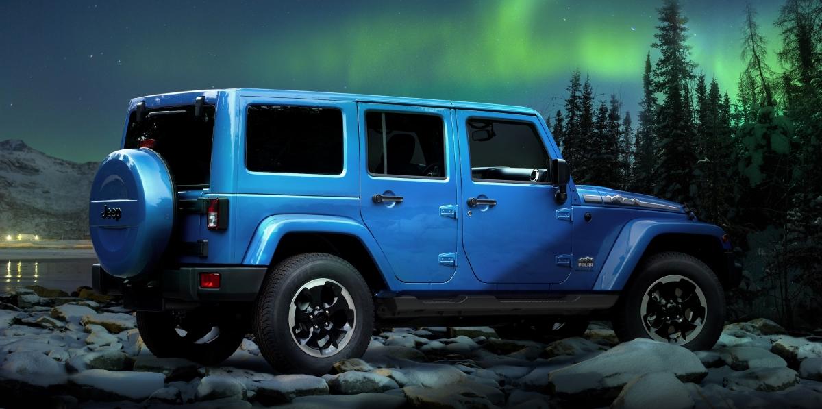 Jeep Wrangler Polar: gotowy na mrozy