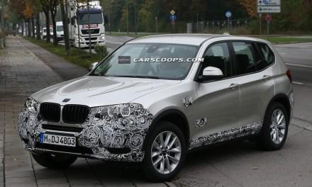 BMW X3 z wizytą u kosmetyczki