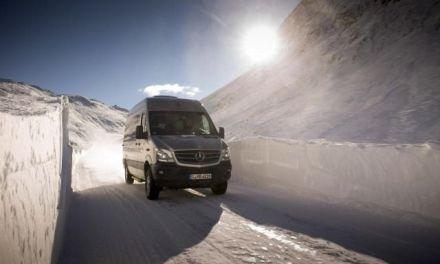 Mercedes-Benz Sprinter 4×4 – van z napędem na wszystkie koła