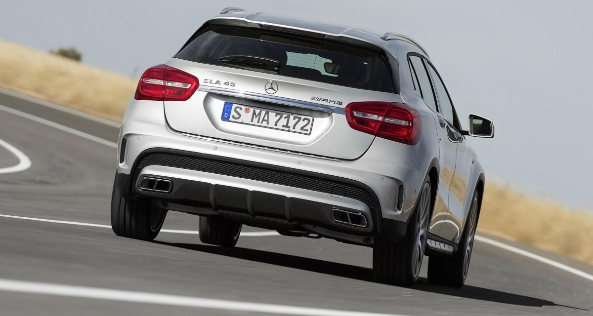 360 KM w kompaktowym SUV-ie czyli Mercedes-Benz GLA 45 AMG