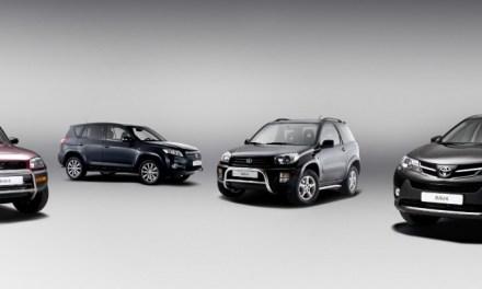 To już 20 lat – jubileusz Toyoty Rav4