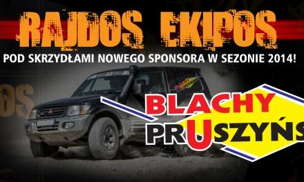 Rajdos Ekipos – nowy sponsor w 2014