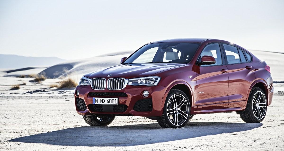 Nowość od BMW czyli X4