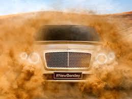 Bentley SUV – pierwsze wideo