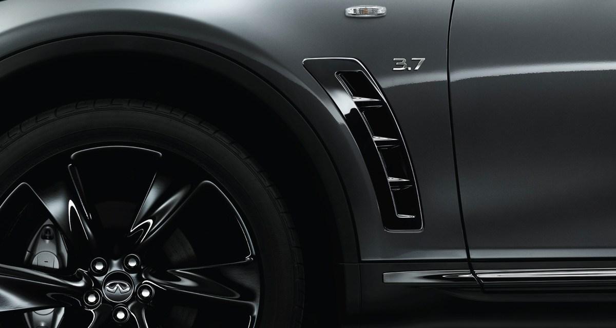 Infiniti QX70 S-Design – niegrzeczny SUV