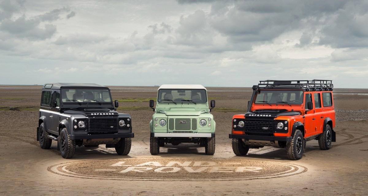 Land Rover Defender – limitowana edycja na pożegnanie