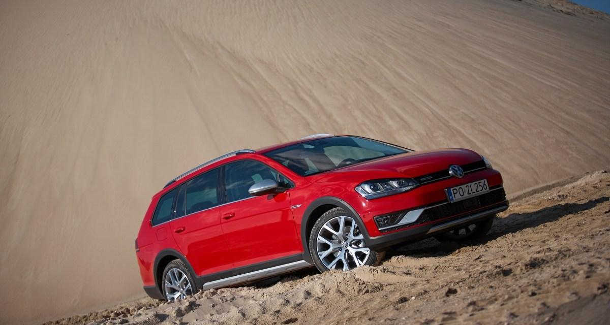 Volkswagen Golf Alltrack: kompakt na bezdroża