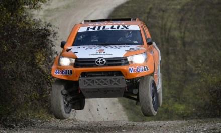 Toyota Hilux na Dakar 2016 – Chabota i Pillota