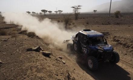 Abu Dhabi Desert Challenge – Aron Domżała i Szymon Gospodarczyk na starcie