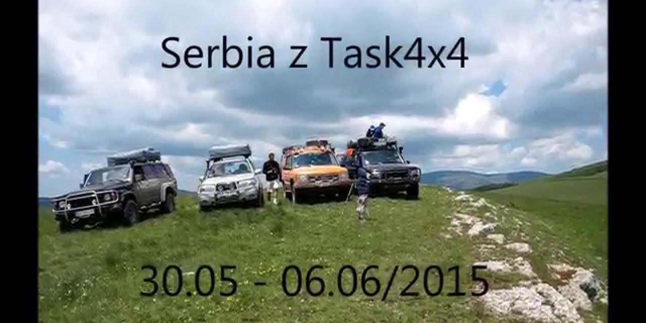 Serbia off-road'owo z Task 4×4