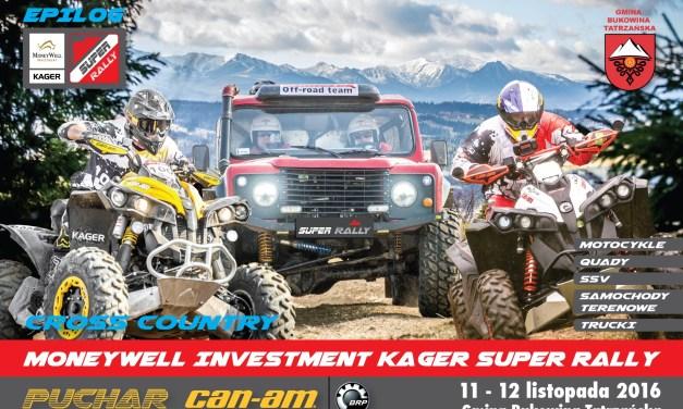 MoneyWell Investment Kager Super Rally – Epilog w gminie Bukowina Tatrzańska