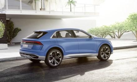 Audi Q8 concept – SUV w stylu coupe