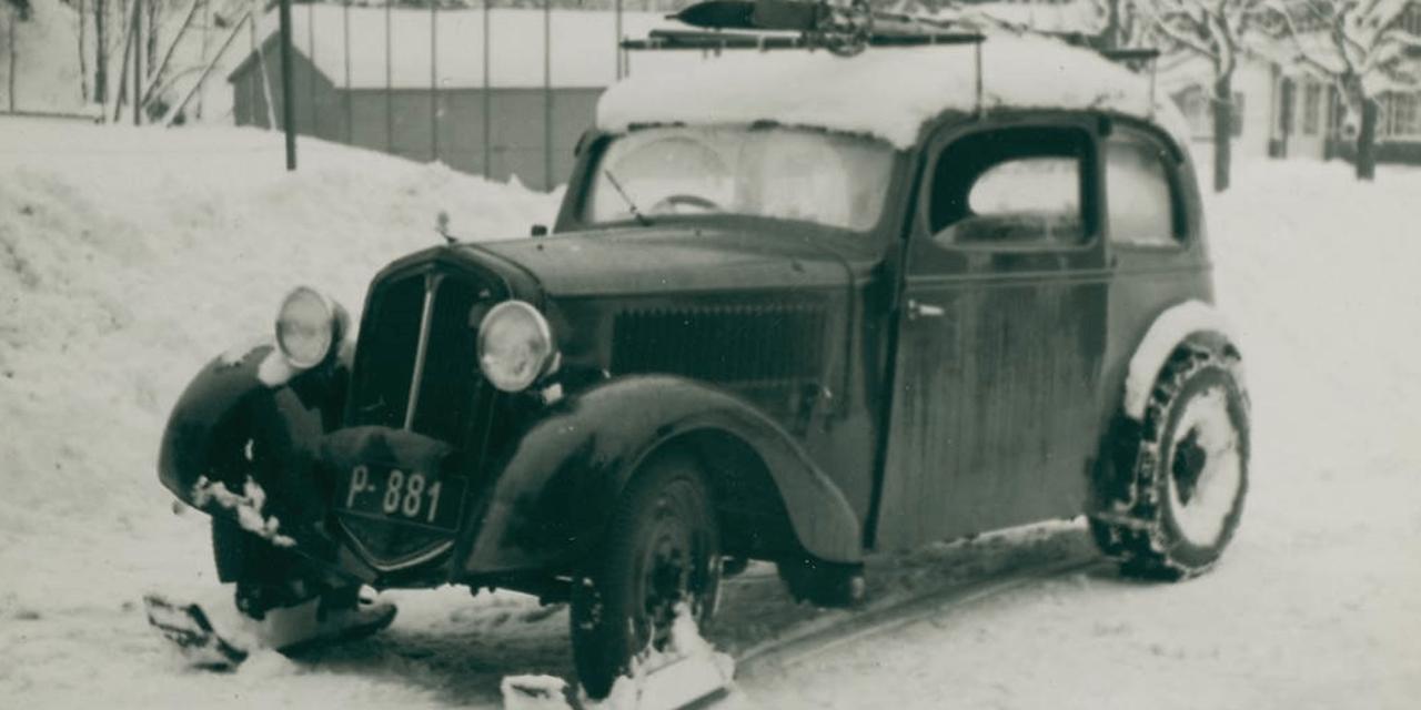 Skoda Popular – poskramiacz śniegu z 1934 roku