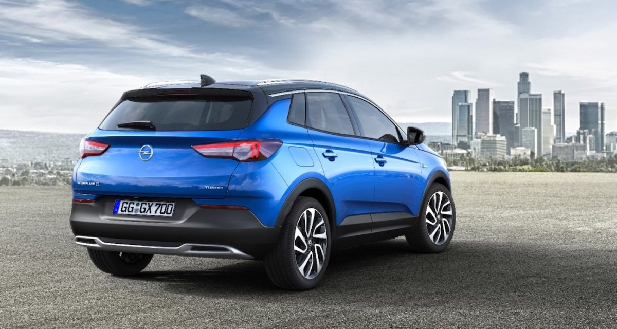 Nowy SUV – muskularny i żądny przygód Opel Grandland X
