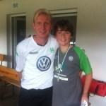 Kombiniertes Trainings- und Torwartcamp mit dem Partner VfL Wolfsburg kam sehr gut an 5