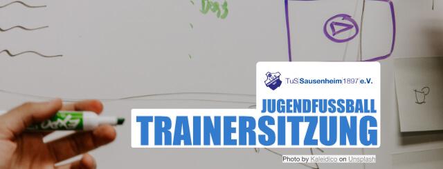 HEUTE: Trainersitzung im Bereich Jugendfußball