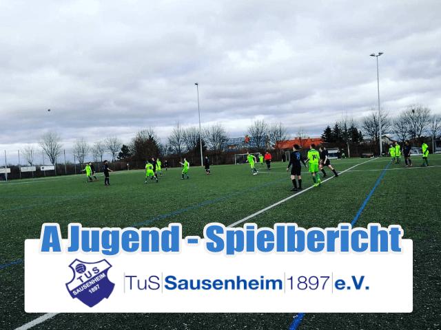 TuS A-Jugend gegen SG-SV Pfingstweide / VT Frankenthal